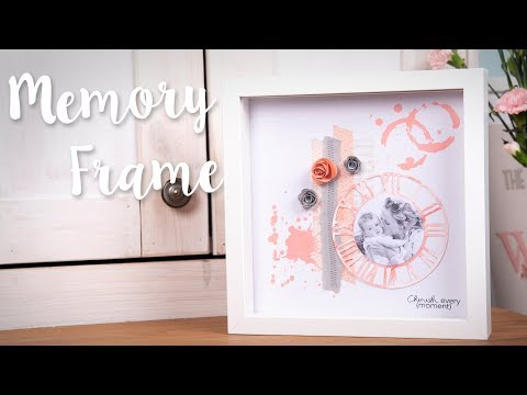 DIY: Home Decor Time Keeper Frame - Sizzix