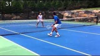 كيف تتعلم التنس الارضي في اقل  من ثلاث دقائق  للمبتدئين  In Less Than 3 Mins How To Learn Tennis