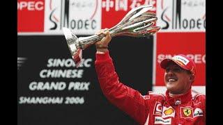 Michael Schumacher - Chinese Grand Prix 2006
