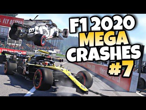 F1 2020 MEGA CRASHES #7