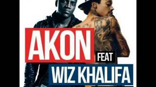 Akon 2013 Feat Wiz Khalifa - Dirty Work [Lyrics]