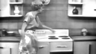 1951 Commercial for Westinghouse Electric Range