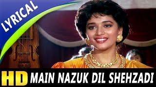 Main Nazuk Dil Shehzadi With Lyrics | Kavita Krishnamurthy