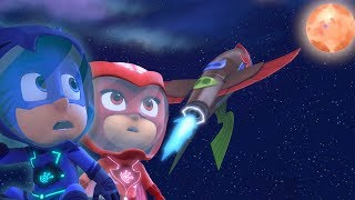 PJ Masks Full Episodes 🌙 PJ Masks Moon Madness! 🌙 Moon Landing Special | Superhero Cartoons for Kids