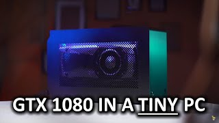 Ultimate Compact Gaming PC - 22 Cores & GTX 1080