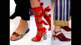 Самая модная обувь сезона весна-лето 2017: форма и типы