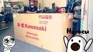 Kawasaki Versys 1000 ( 2016 ) достаем из коробки !