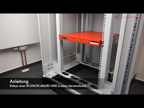 Rack-Montage Securepoint RC300/RC400/RC1000