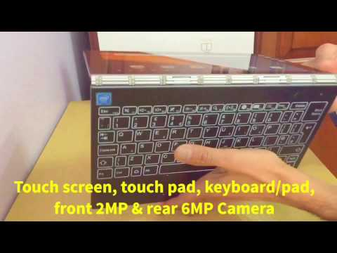 3 in 1 Tablet - Lenovo YB1-X90F Yoga Book