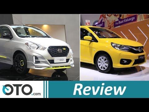 Honda Brio Satya CVT 2018 VS Datsun Go CVT 2018 | Review | Perbandingan Spesifikasinya! | OTO.com