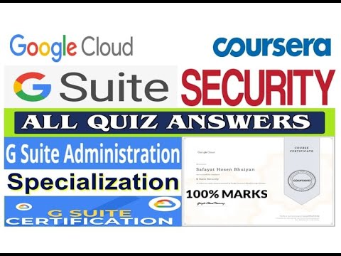 G Suite Security | All Quiz Answers | G Suite Administration ...