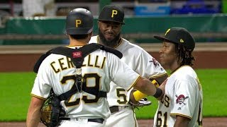 Here is the video of Gift making his major league baseball debut