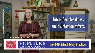 With hope and joy: St. Peter's Catholic School to return to classroom instruction in August