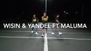 La Luz- Wisin & Yandel Ft Maluma/ Grupozumbaz2