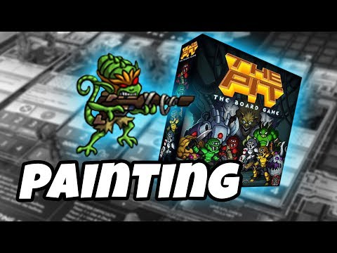 The Pit: The Board Game - how to paint CRAZED TARKA FEMALE
