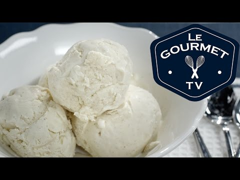 Video Eggnog Ice Cream Recipe - LeGourmetTV