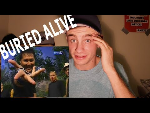 Magician REACTS to Demian Aditya BURIED ALIVE (видео)