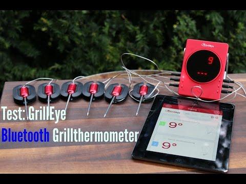 Test GrillEye Bluetooth Grillthermometer