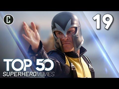 Top 50 Superhero Movies: X-Men: First Class - #19