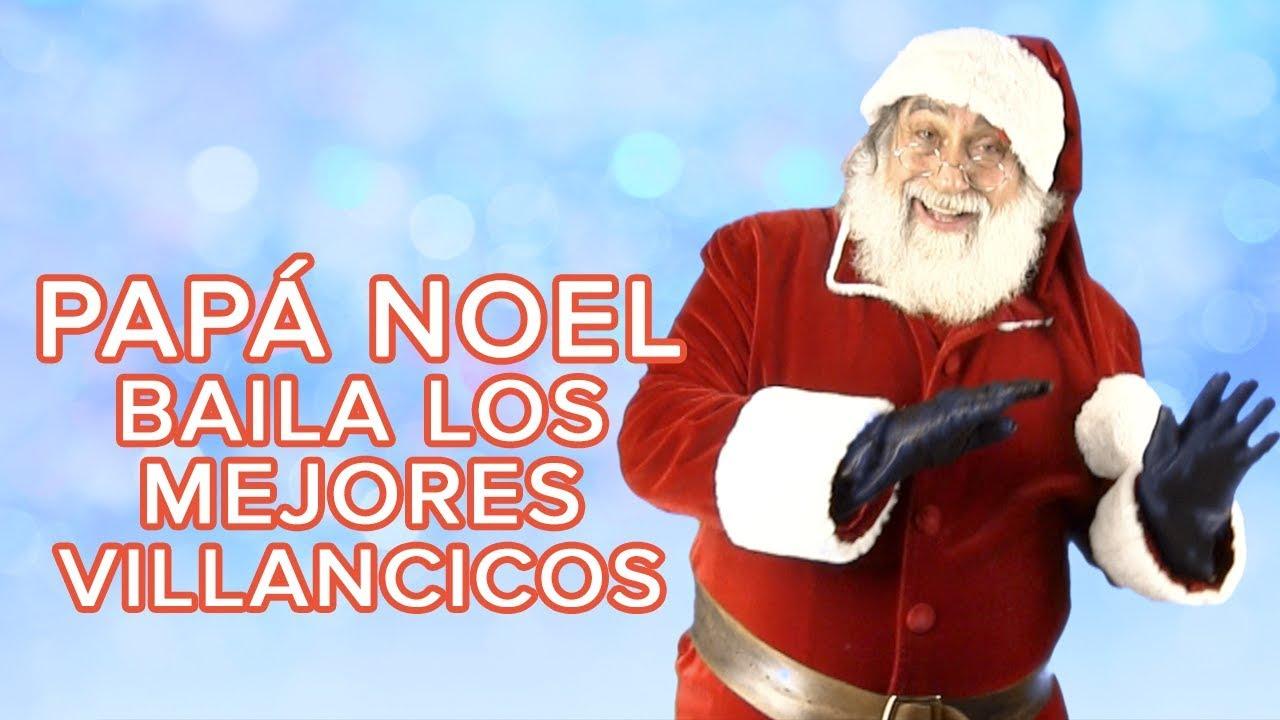 Los villancicos más navideños bailados por Papá Noel | Canciones de navidad