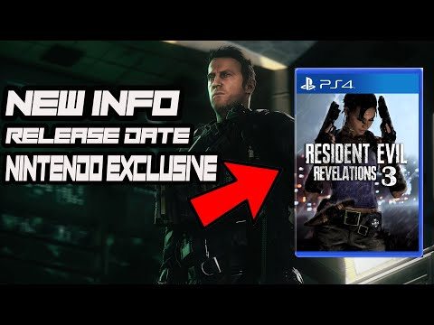 Resident Evil Revelations 3 NEWS- Release Date, NEW Info And more!(Resident Evil Outrage)