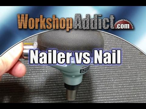 """Prove It! - Hitachi Palm Nailer vs 3.5"""" Framing Nails"""