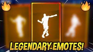 Top 10 Legendary Emotes in Fortnite Battle Royale..!