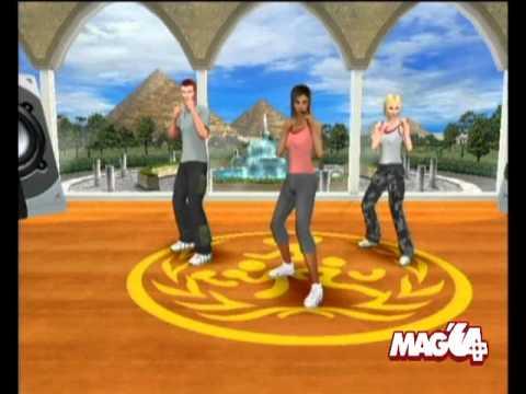 mon coach personnel danse fitness wii telecharger