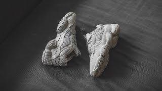 "Review & On-Feet: Adidas Yeezy 500 Desert Rat ""Blush"""