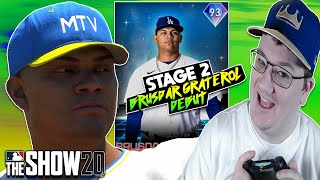BRUSDAR GRATEROL DEBUT STAGE 2 FUTURE STARS CARDS GAMEPLAY REVIEW MLB THE SHOW 20 DIAMOND DYNASTY