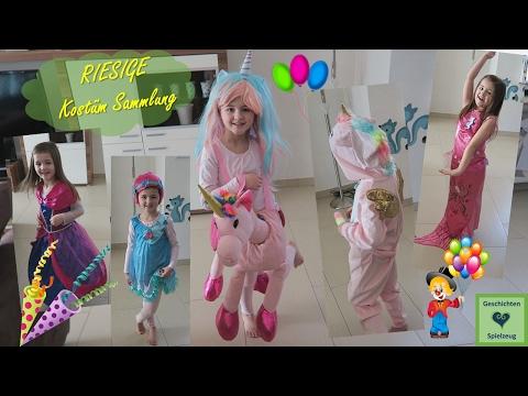 Avas RIESEN Kostüm Sammlung für Fasching - mehr als 10 Kostüme!!  💕 Geschichten und Spielzeug