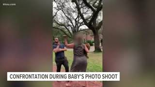 Confrontation Over Babys Photoshoot Caught On Camera