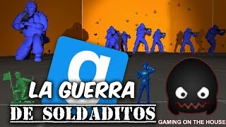 MINI SOLDADITOS EN GUERRA!! GMOD En Español - GOTH