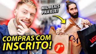 SHOPPING DAY Com INSCRITO: Gastei MIL REAIS Em Compras Pra 01 Inscrito Do Canal 💰
