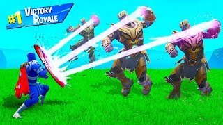 How STRONG is CAPTAIN AMERICA'S SHIELD in Fortnite Battle Royale
