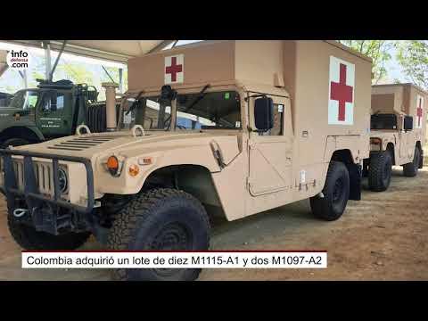 Los doce Humvee que Colombia adquirió antes de la crisis del Covid-19