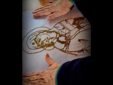 Chiara Vigo spinnt hauchdünne Faserbärte der edlen Steckmuschel zu einem kostbaren Faden