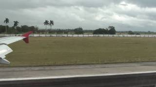 preview picture of video 'Landing in Havana Terminal 3 Jose Marti Nov/2010 (Aterrizaje en La Habana Cuba)'