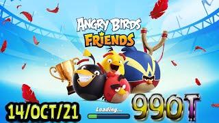 Angry Birds Friends All Levels Tournament 990 Highscore POWER-UP walkthrough
