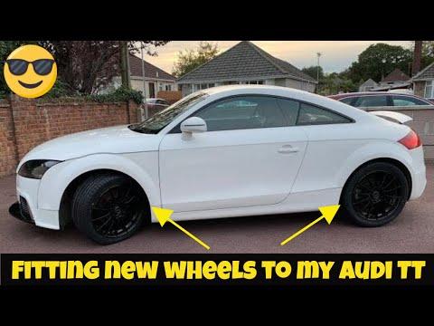 Fitting new alloy wheels on my Audi TT