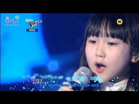 [The Voice Kids HQ] Ahyun, Ye Eum & Eunsung - Snow Flower (Park Hyoshin) - Sao trời lạnh thế này @@ bé Ye Eum đáng yêu quá