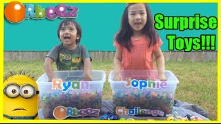 ORBEEZ CHALLENGE Surprise Toys with Ryan