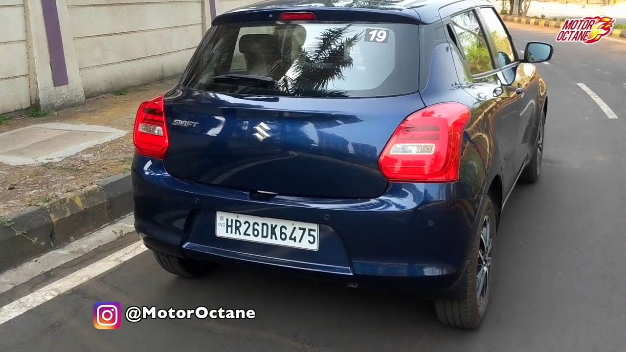 Motoroctane Youtube Video - Maruti Swift 2019 Real life review in Hindi | MotorOctane
