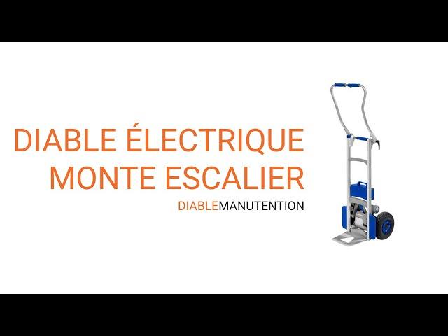 Vidéo présentation diable électrique monte escalie