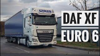 DAF XF Euro 6. Обзор от водителя.