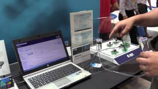 Liquid / Fuel Level Gauge Demo with IDT Inductive Position Sensor