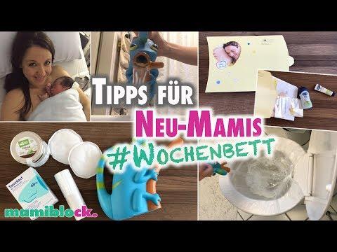 LIFE HACKS für Neu- Mamas | Wochenbett | mamiblock