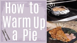 How To Warm Up An Achatz Pie (From A Frozen State)