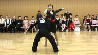 社交ダンス ジャイブ 第1位 第13回ヤングサークル10ダンス選手権 若者サークル競技会
