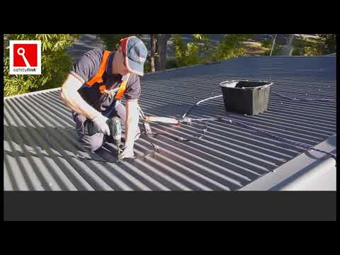TempLink 3000 Installation on a Metal Roof
